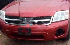 Foreign Used Mitsubishi Endeavor 2008 Model Red