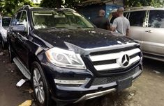 Foreign Used Mercedes-Benz GL-Class 2016 Model Blue