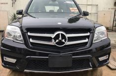 Tokunbo Mercedes-Benz GLK 2010 Model Black