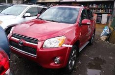 Foreign Used Toyota RAV4 2012 Model Red