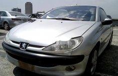 Nigeria Used Peugeot 206 2004 Model Silver