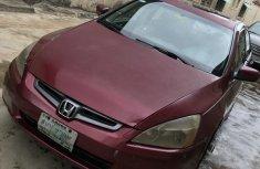 Very Clean Nigerian used Honda Accord 2005