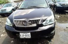 Foreign Used Lexus RX 2009 Model Black