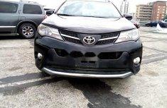 Nigeria Used Toyota RAV4 2015 Model Black