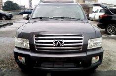 Nigeria Used Infiniti QX 2005 Model Black