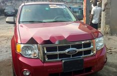 Foreign Used Ford Escape 2008 Model Red