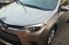 Used Toyota Corolla Foreign 2016 Model Silver for Sale