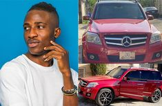 Nollywood actor Alesh Ola Sanni shows off newly acquired Mercedes-Benz