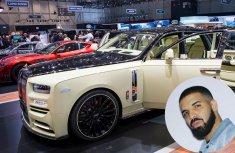Drake makes history buying the first custom Rolls-Royce Bushukan