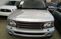 Range Rover Sport 2006 Model Foreign Used Silver