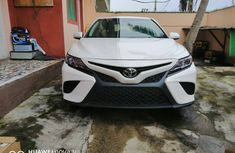 Used Toyota Camry Foreign 2018 Model White for Sale