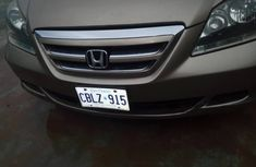 Honda Odyssey 2005 Model Foreign Used  V6 Gold
