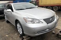 Used Lexus ES 350 Foreign 2010 Model Silver for Sale