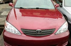 Used Toyota Camry Foreign 2004 Model Red for Sale