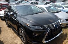 Lexus RX 350 2017 Model Foreign Used Black