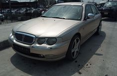 Foreign Used  Rover 75 2004 Model Gold