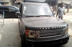 Nigeria Used Land Rover LR3 2006 Model 2006 Model Gray