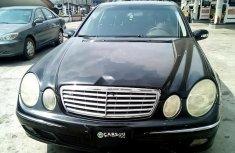 Nigeria Used Mercedes-Benz E500 2005 Model Black