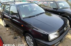 Foreign Used Volkswagen Golf 2000 Model Black