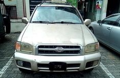 Nigeria Used Nissan Pathfinder 2001 Model Gold