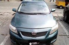Super Clean Nigerian used Toyota Corolla 2009