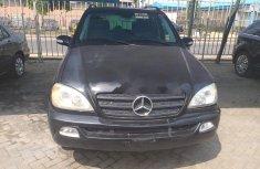 Tokunbo Mercedes-Benz ML 320 2002 Model Black