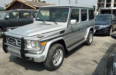 Nigeria Used Mercedes-Benz G-Class 2003 Model Silver