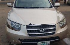 Nigeria Used Hyundai Santa Fe 2007 Model Silver