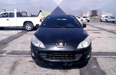 Nigeria Used Peugeot 407 2004 Model Black