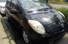 Foreign Used Toyota Yaris 2007 Model Black