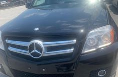 Mercedes Benz GLK 2011 Model Foreign Used  Black