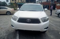 Toyota Highlander SUV Foreign Used 2010 Model White