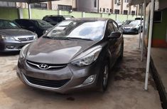 Nigeria Used Hyundai Elantra 2012 Model Gray