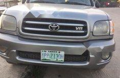 Nigeria Used Toyota Sequoia 2004 Model Gray