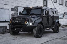 Drive this ₦126m Inkas Sentry Civilian to scare your passers-by with its heavy duty look