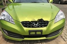 Foreign Used Hyundai Genesis 2010 Model Green