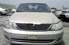 Nigeria Used Toyota Avalon 2001 Model Silver
