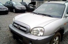 Nigeria Used Hyundai Santa Fe 2005 Model Silver