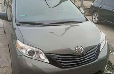 Toyota Sienna 2012 Model Foreign Used Gray for Sale