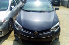 Foreign used Toyota Corolla 2015 model