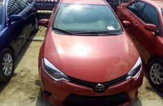 Used Toyota Corolla Foreign 2014 Model Red for Sale