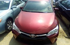 Used Toyota Camry Foreign 2015 Model Red for Sale