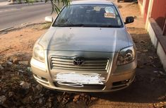 Toyota Avensis 2005 Model Foreign Used Silver for Sale