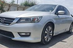 Foreign Used Honda Accord 2013 Model SIlver Colour