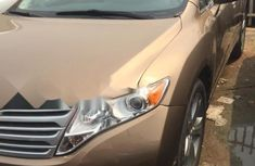 Foreign Used Toyota Venza 2009 Model Brown