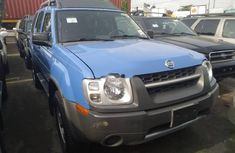 Foreign Used Nissan Xterra 2003 Model Blue