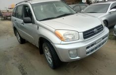 Toyota RAV4 2005 Model Foreign Used Silver Jeep