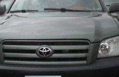 Toyota Highlander SUV Nigeria Used 2005 Model Green