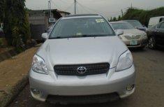 Toyota Matrix 2007 Model Nigeria Used V6 Silver