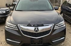 Foreign Used Acura MDX 2014 Model Gray